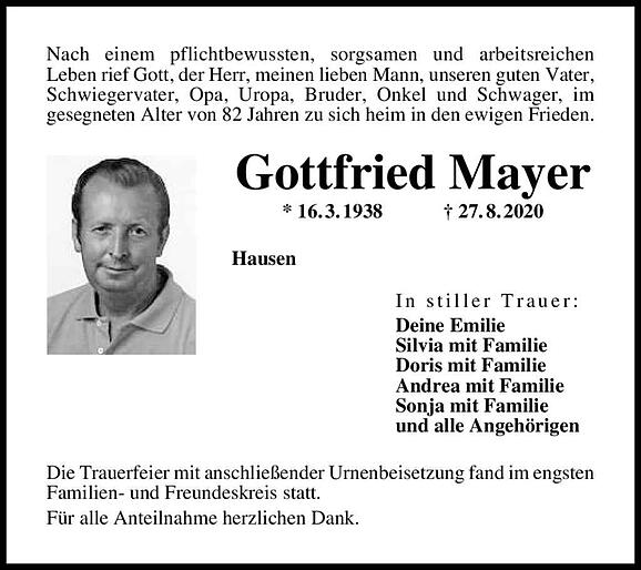 Gottfried Mayer