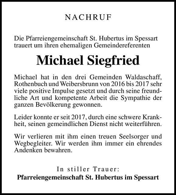 Michael Siegfried