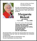 Margareta Bickert