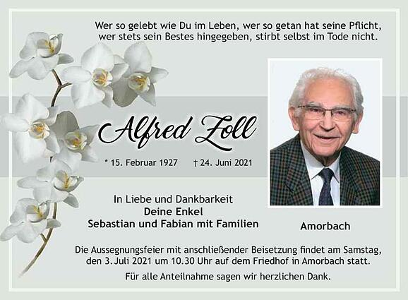 Alfred Zoll