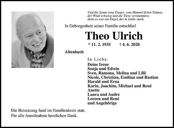 Theo Ulrich