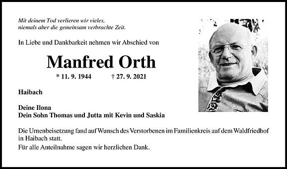 Manfred Orth
